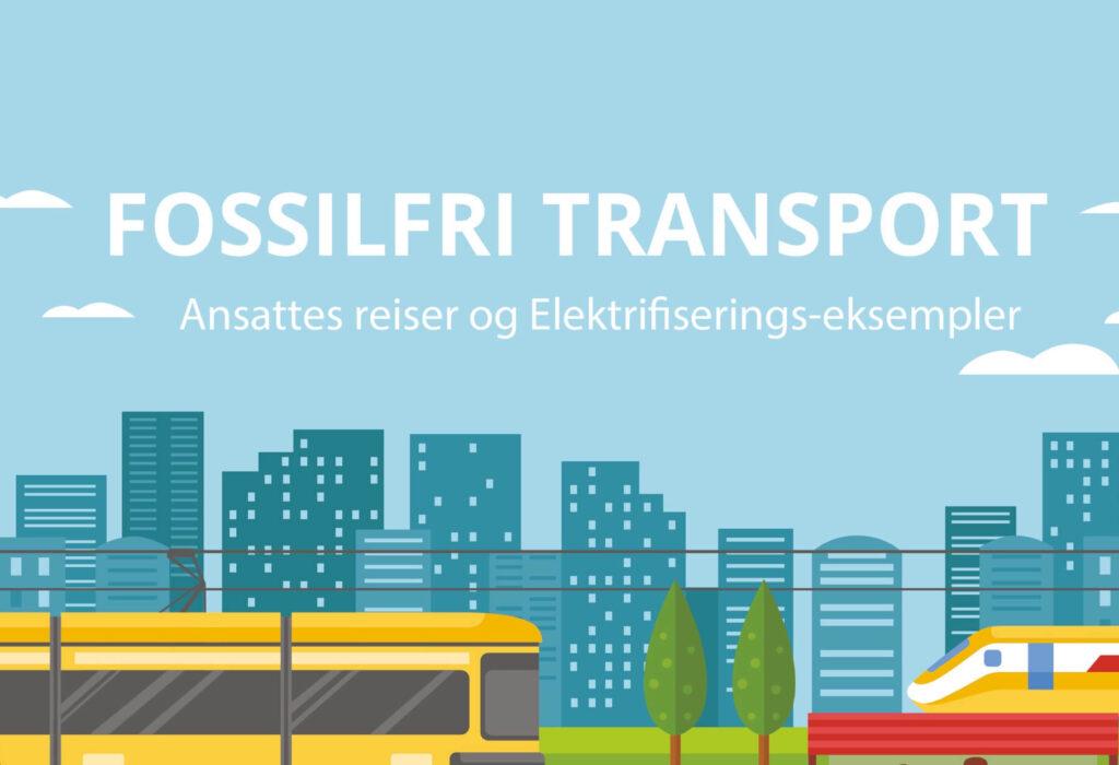 Opptak og presentasjoner fra webinar: Fossilfri transport – Ansattes reiser og elektrifiseringseksempler